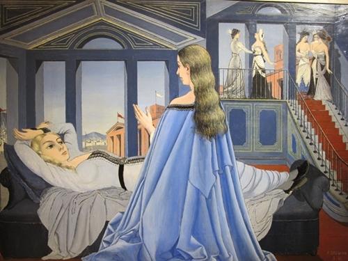 Réconciliation dans l'esprit de l'artiste ? L'Annonciation (1955)