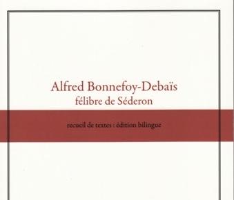 Legir «Lo felibre de Sederon» de Joan-Glaude Rixte