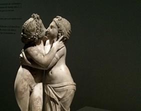 Eros et Psyché, second siècle avant JC, Musée des Beaux Arts de Dresde (photo MN)