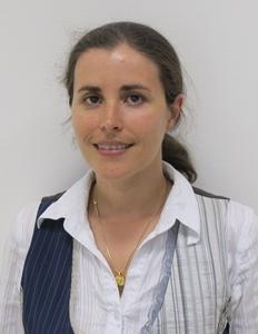 Sara Laurens es professora d'occitan e escrivana (photo MN)