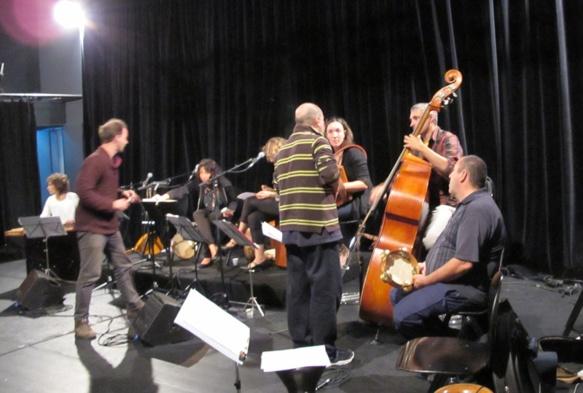 Résultat public le vendredi 31 octobre cité de la Musique de Marseille (10 et 12€) à 20h30 (photo MN)