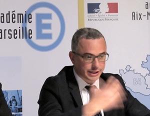 Le recteur d'Aix-Marseille, Ali Saïb, fait face à un cas unique : Marseille avait eu deux ans pour préparer la réforme, mais ne les a pas mis à profit (photo MN)