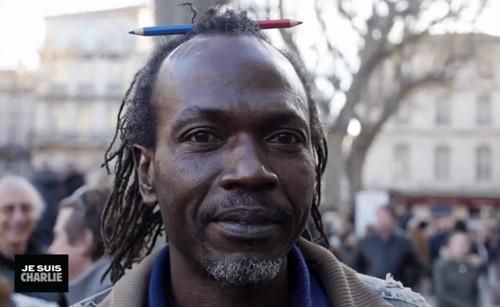 """In """"Je suis Charlie en Avignon"""" d'Emmanuel Brugvin (EB DR)"""