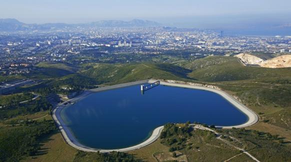 En cas de travaux de maintenance prolongés ou de pollutions, les eaux de Venturi et du Regagnas pourraient abreuver Marseille. Ici la réserve marseillaise du Vallon Dol (photo Camille Moirenc/SCP)