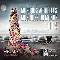 """Carte de visite collective de belle qualité le double CD de la Région incluera aussi en 2015 les """"musiques du monde"""" (photo XDR)"""