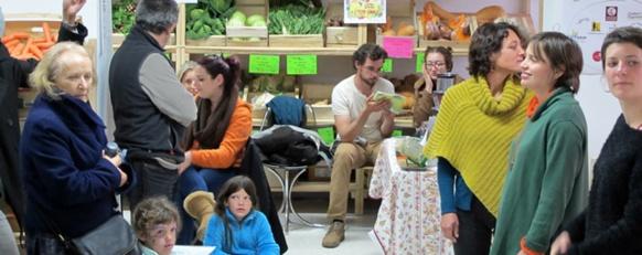 L'épicerie associative est née d'une idée d'étudiants, elle est fournie par des agriculteurs du pays (photo MN)