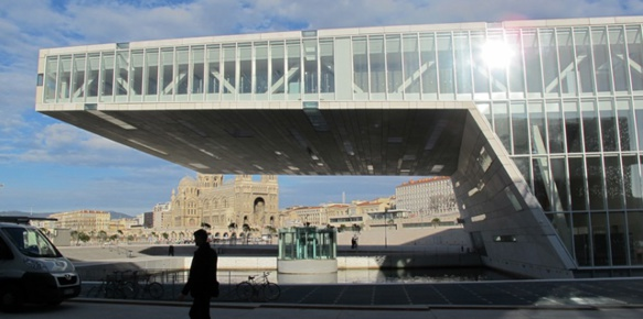 Fin mai début juin la Conférence des Régions sur le Climat aura lieu à la Villa Méditerranée (photo MN)