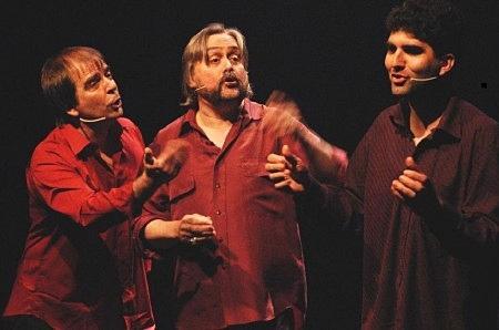 Parmi les créations, A l'arrivée de mon retour, du Trio Brou Hamon Quimbert. A noter que la mise en polyphonie est due à Manue Théron (photo XDR)