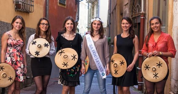 Les six candidates pour la Reine du quartier Est de Nice (photo Frédéric de Faverney DR)