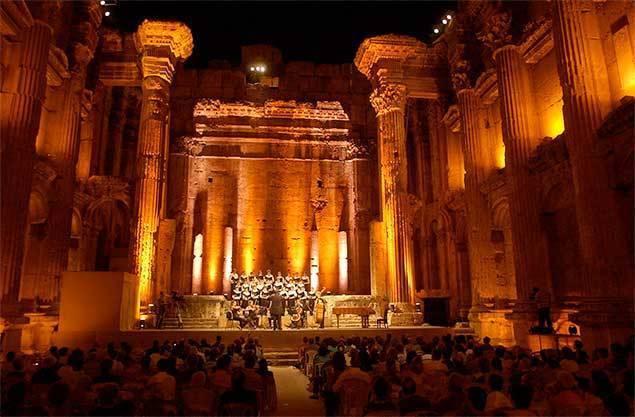 Une soirée hommage au festival de Baalbeck, toujours debout malgré la guerre au Liban et autour (photo XDR)