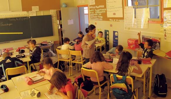 """Le dispositif """"passerelle pour la sixième"""" permet aux professeurs d'occitan d'intervenir aussi en primaire (photo MN)"""