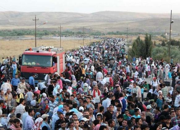 Il y a actuellement deux millions de réfugiés syriens selon l'Agence des Nations Unies pour les Réfugiés. La France accueillera en tout et pour tout 24 000 réfugiés en 2015 (photo UNHCR DR)