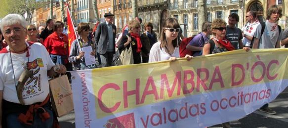 Si les manifestations en faveur des Langues de France auront lieu dans toutes les régions où se parle une langue minoritaire, des manifestants viendront aussi à Montpellier d'Italie ou d'Espagne (photo MN)