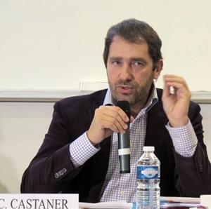 Christophe Castaner. Soumission aux ukases parisiens ou attitude responsable face au risque d'une Région FN ? (photo MN)