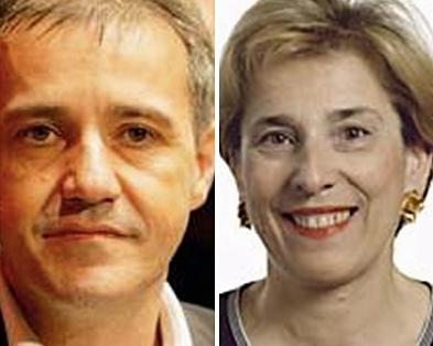 Jean(Guy Talamoni, président de l'Assemblée de Corse, et Marie-Noëlle Lienemann, sénatrice de Paris (photo XDR)