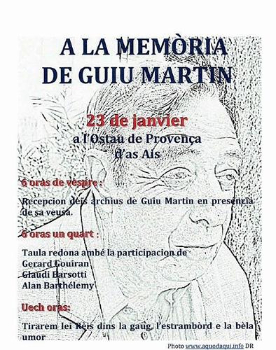 Les archives de  Guiu Martin entrent au Cep d'Oc