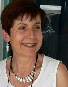 Marie-Jeanne Verny, également professeure, elle de Littérature, à l'Université Paul Valéry de Montpellier, et cheville ouvrière de la Felco, a été aussi nommée chevalier des Arts et Lettres le 8 janvier 2016 (photo Clemenç Pech DR)