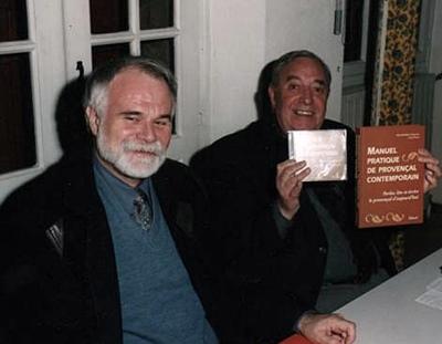 En 2003 Alain-Barthélemy-Vigouroux et Guy Martin cosignent un Manuel pratique de provençal contemporain (photo XDR)