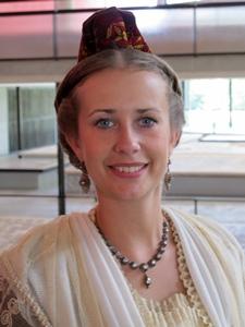 La Reine d'Arles Mandy Graillon, en septembre 2015 (photo MN)