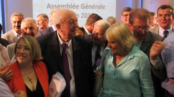 Autour des deux adversaires Maryse Joissains (pays d'Aix) et Jean-Claude Gaudin (Marseille) les maires avaient cristallisé l'opposition à la création d'une métropole marseillaise. Ils ont désormais épuisé les recours juridiques, mais n'acceptent toujours pas la nouvelle entité (photo MN)