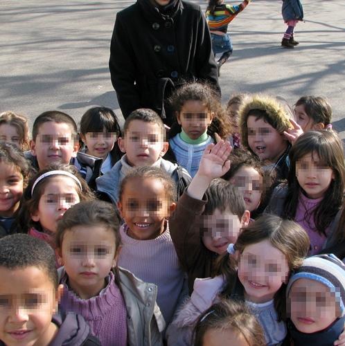 A la Maternelle de Castellas les Lions (photo MN)