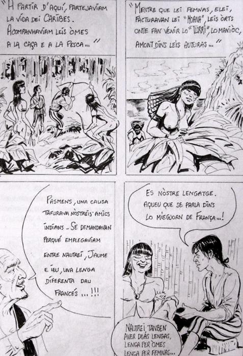 """""""La lenga de mon imaginàri"""". Gerard Phavorin per l'Armanac de Mesclum (XDR)"""