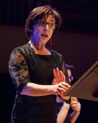 Marie-José Bernard, la soprano d'Archemia. Donnez lui absolument d'autres textes en provençal à chanter! (Photo Philippe Nou/Li Venturié DR)