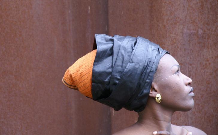 De Marseille à Conakry, de la vie de femme à la vie d'artiste, Sayon Bamba en icône des 19è joutes ? (photo Philippe Dessauga DR)