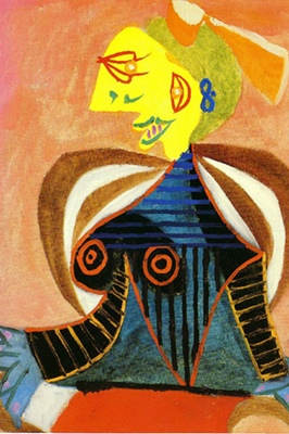 Lee Miller en Arlésienne est peint le 20/09/1937 (Succession Picasso 2016 DR)