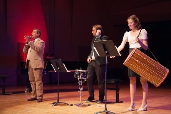 Lors d'un concert au Conservatoire d'Aix (photo Philippe Nou DR)