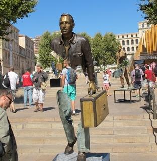 Marseille, cinquième destination française pour les Européens qui vont à l'hôtel (photo MN)