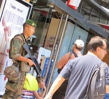 """Aquò se veirà pas davant leis escòlas, que lei còlas policièras seràn """"mobilas"""" (photo MN)"""