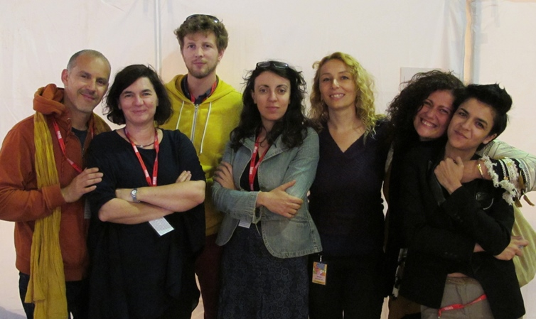 Les Dames de la Joliette au grand complet, arrangeur et compositeur compris. Elles seront sur la scène en octobre (photo MN)