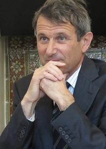 Bruno Vergobbi, le directeur de la Société du Canal de Provence. La gestion d'amont en aval des eaux des Alpes assure la livraison d'eau depuis soixante ans à la Provence littorale, urbaine, et peuplée (photo MN)