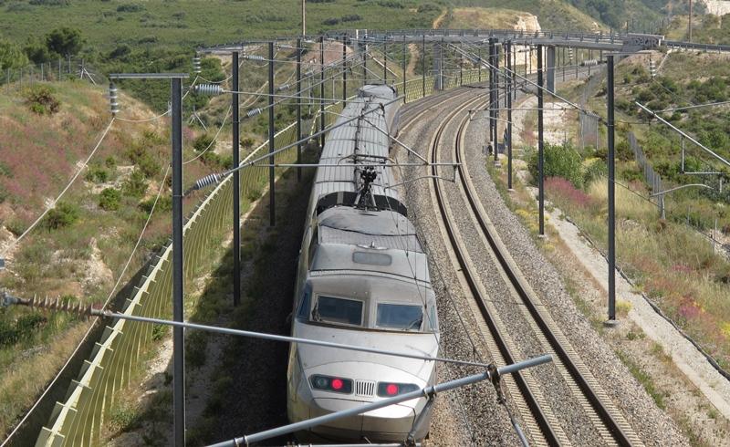 Le budget prévisionnel de la première tranche, vers Toulon, est estimé à sept milliards d'€uròs. Mais la nécessité de creuser de nombreux tunnels dont la difficulté est inconnue pourrait augmenter le devis (photo MN)