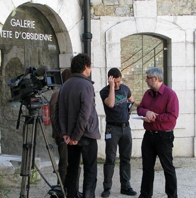 A partir de 1983 Jean-Pierre Belmon entame une carrière dans les médias : radio d'abord, télévision ensuite (photo MN)
