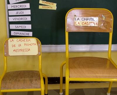 Un enjeu pour l'enseignement des langues régionales qu'on parle moins en famille : maintenir le niveau des enseignants de demain (photo MN)