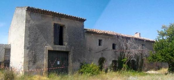 Le Mas Saint-Paul à Cheval Blanc, siège du futur Observatoire de la Langue Provençale (phot XDR)