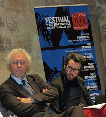 Bernard Foccroulle, directeur du Festival depuis 2006, quittera ses fonctions à l'issue de l'édition de 2018 (photo MN)