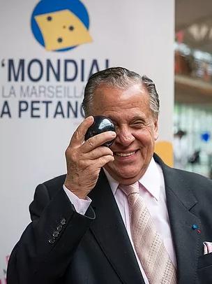 Michel Montana, le fondateur du Mondial à Pétanque (photo XDR)