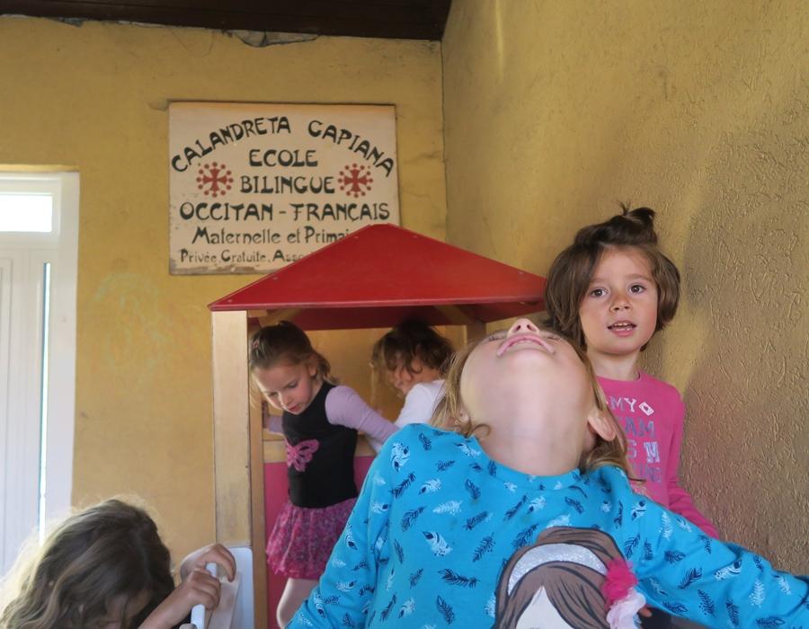 La Calandreta de Gap, selon sa fédération, retrouvera dès cette année sa subvention régionale. Les effectifs sont en hausse et un projet de nouvelle école cherche à émerger dans l'aire toulonnaise (photo MN)