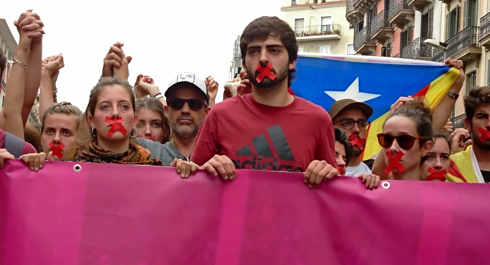 A Barcelona : « a voté ! »