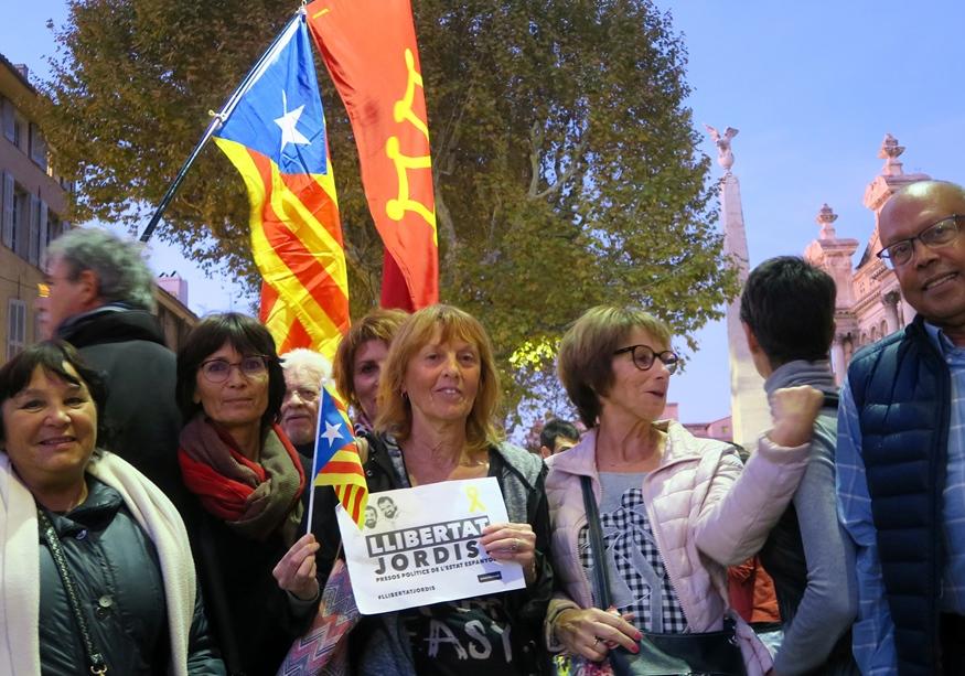 Fin octobre, une première manifestation de protestation à Aix, le premier décembre une seconde à Marseille (photo MN)