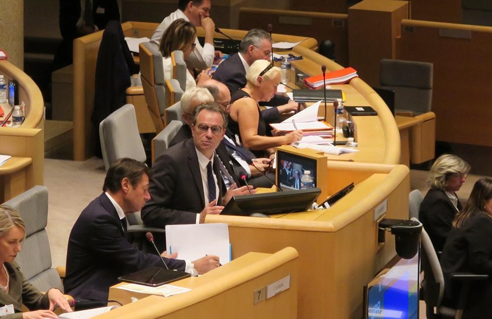 """Le 15 décembre, Renaud Muselier a proposé au vote des conseillers régionaux le dépôt du nom """"Région Sud"""" pour la Provence (photo MN)"""