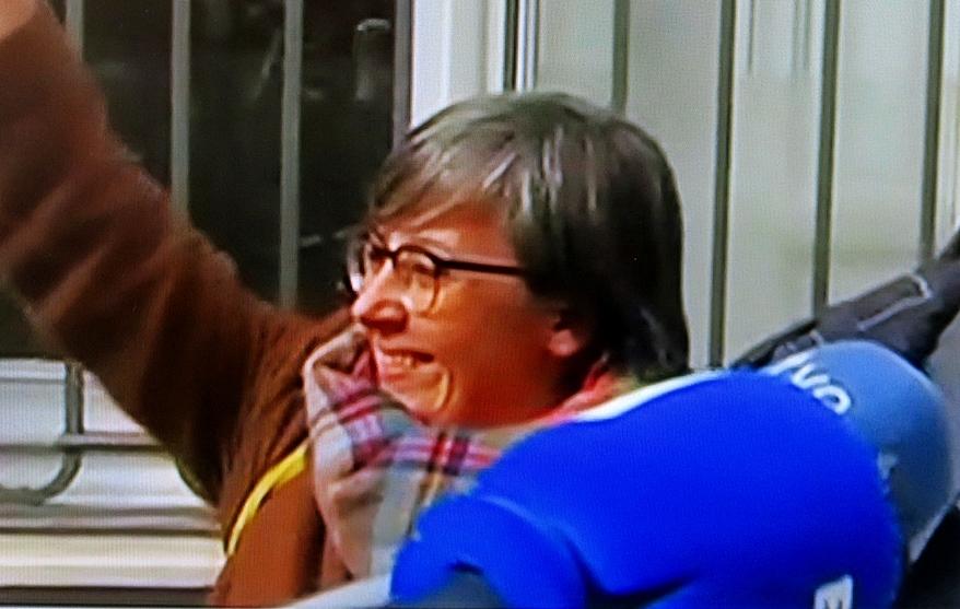 Mirèia Boya au sortir du TS ce 14 février (photo TV3 DR)