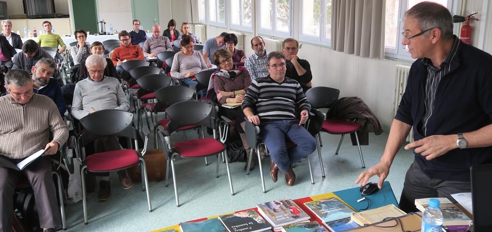 Le 31 janvier dernier à l'Espe de Digne, journée de sensibilisation à la langue d'oc (Photo MN)