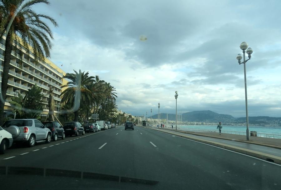 La Promenade des Anglais à Nice (photo MN)