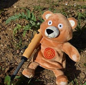 Patonet est aussi un excellent jardinier... (photo Liza DR)