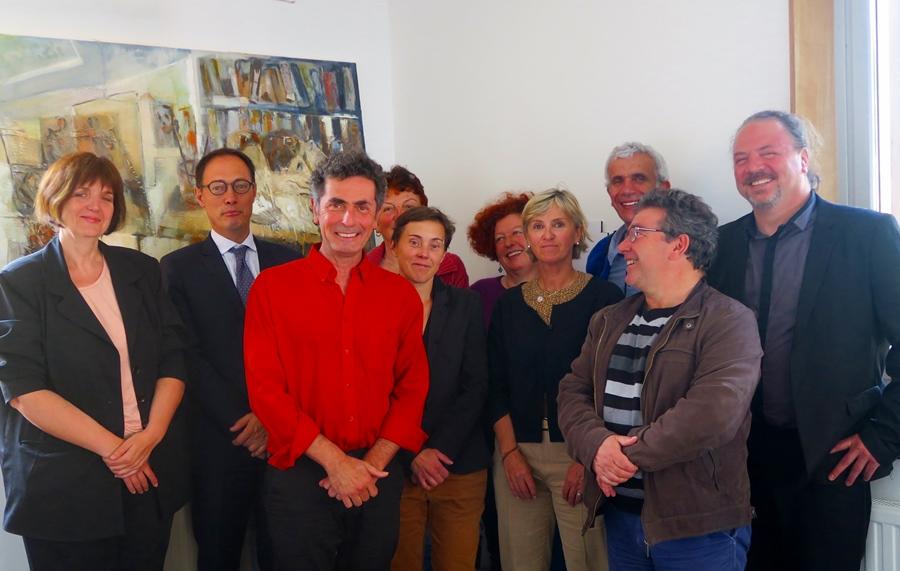 La Commission départementale du Schéma Langue Régionale : élus, techniciens et associatifs sur le même bateau (photo MN)