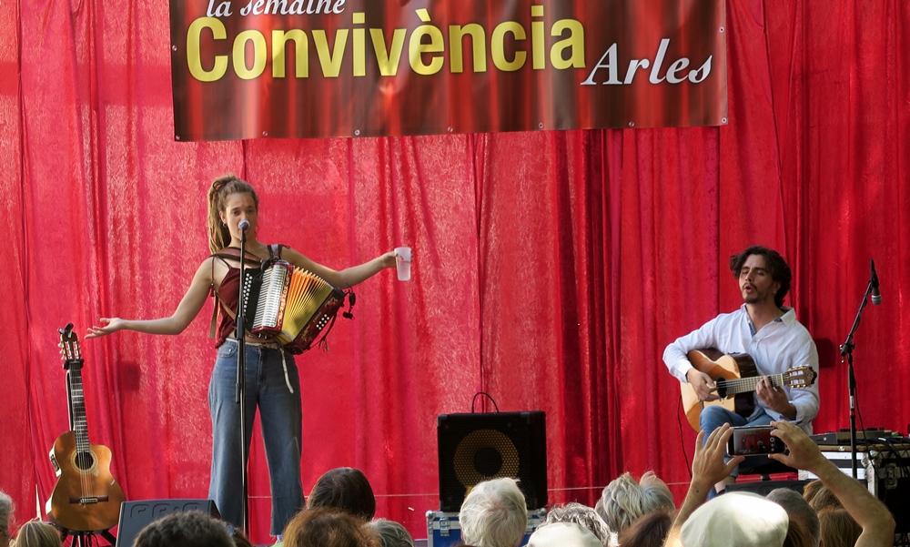 """Le duo musical """"qui nous laisse tous deux très libres sur scène """" (photo MN)"""